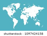 world map vector | Shutterstock .eps vector #1097424158