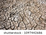 climate warming dry chapped... | Shutterstock . vector #1097442686