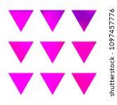 vector gradient reverse... | Shutterstock .eps vector #1097457776