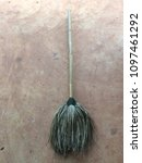 Small photo of broom Sweepers Usually made of stalks of grass to bloom with a long handle, some species are used as a clutch. Sweep the floor.