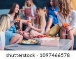 girls party. beautiful women... | Shutterstock . vector #1097466578