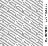 black and white stripes... | Shutterstock .eps vector #1097466872