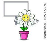 bring board daisy flower... | Shutterstock .eps vector #1097477078