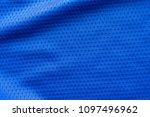 blue color fabric sport... | Shutterstock . vector #1097496962