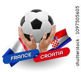 soccer competition  national... | Shutterstock . vector #1097505605