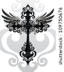 angel,backgrounds,beauty,black and white,catholicism,christianity,church,cross,cross shape,crucifix,design,flying,forgiveness,god,gothic style