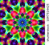 psychedelic art. new... | Shutterstock . vector #1097514425
