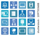 database icon set vector design | Shutterstock .eps vector #1097533688