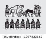 ancient sumerian civilization | Shutterstock .eps vector #1097533862