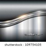 metallic background steel... | Shutterstock .eps vector #109754105