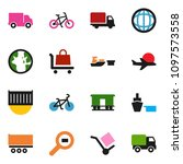 solid vector ixon set   world... | Shutterstock .eps vector #1097573558