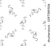 seamless vector texture with... | Shutterstock .eps vector #1097589506