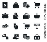 set of simple vector isolated... | Shutterstock .eps vector #1097606132