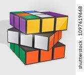 minsk  belarus  23 may 2018 .... | Shutterstock .eps vector #1097619668