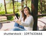 portrait of beautiful woman...   Shutterstock . vector #1097633666