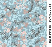 abstract elegance pattern with... | Shutterstock .eps vector #1097638955