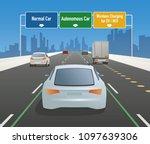 highway sign illustration ...   Shutterstock .eps vector #1097639306