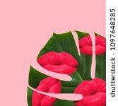 summer background textures.... | Shutterstock . vector #1097648285