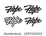 typography lettering phrase... | Shutterstock .eps vector #1097653142