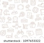 different types of holidays and ... | Shutterstock .eps vector #1097653322