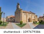 san isidoro church on the... | Shutterstock . vector #1097679386