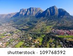 aerial view of cape town  south ... | Shutterstock . vector #109768592
