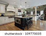 kitchen in luxury home with... | Shutterstock . vector #109770035