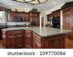 kitchen in luxury home with... | Shutterstock . vector #109770086