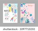 creative universal artistic... | Shutterstock .eps vector #1097713232