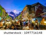 phuket thailand   sept. 3  ... | Shutterstock . vector #1097716148