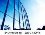 modern glass silhouettes on... | Shutterstock . vector #109775246