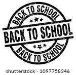 back to school round grunge... | Shutterstock .eps vector #1097758346