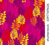 abstract safari style flower... | Shutterstock .eps vector #1097769626