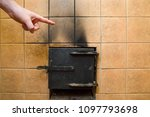 Man's Hand Pointing To The Soot ...