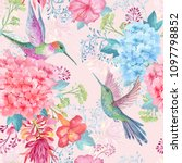 Seamless Watercolor Pattern ....