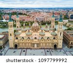 the cathedral basilica of our...   Shutterstock . vector #1097799992