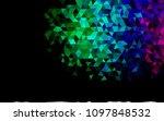 dark multicolor  rainbow vector ... | Shutterstock .eps vector #1097848532