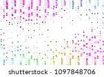 light multicolor  rainbow... | Shutterstock .eps vector #1097848706
