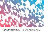 light blue  red vector blurry... | Shutterstock .eps vector #1097848712