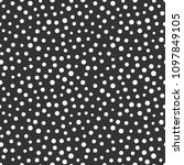memphis geometric seamless... | Shutterstock . vector #1097849105