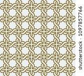 arabic geometric abstract art... | Shutterstock .eps vector #1097857766