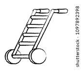 handcart icon image | Shutterstock .eps vector #1097892398