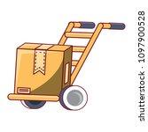 handcart icon image | Shutterstock .eps vector #1097900528