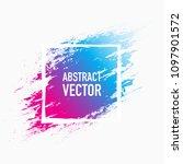 abstract colour splash | Shutterstock .eps vector #1097901572