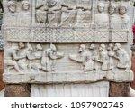 close detailed view of obelisk... | Shutterstock . vector #1097902745