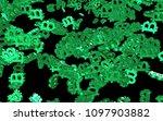 digital currency symbol bitcoin....   Shutterstock . vector #1097903882