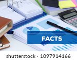 facts and finance concept   Shutterstock . vector #1097914166
