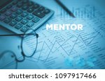mentor and finance concept   Shutterstock . vector #1097917466