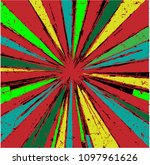 abstract geometrical burst... | Shutterstock .eps vector #1097961626