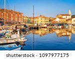 port in the adriatic sea in... | Shutterstock . vector #1097977175